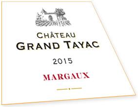 Etiquette Château Grand Tayac Margaux Bordeaux