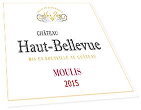 Etquette Château Haut-Bellevue Moulis Médoc